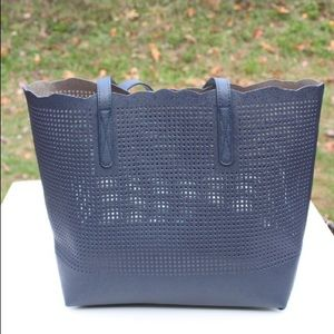 NWOT Neiman Marcus perforated tote bag